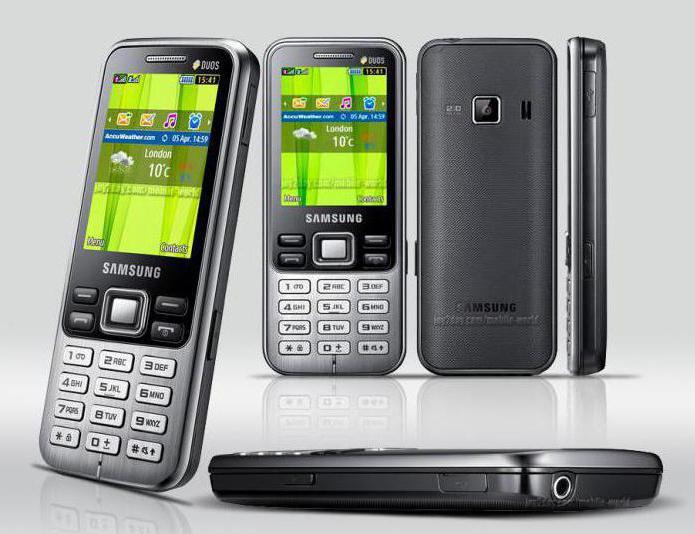 Samsung 3322 Duos приложения
