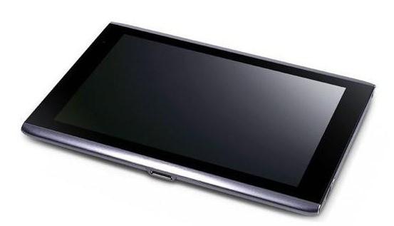 Планшет Асер А500. Acer (планшет): описание, свойства, отзыв…