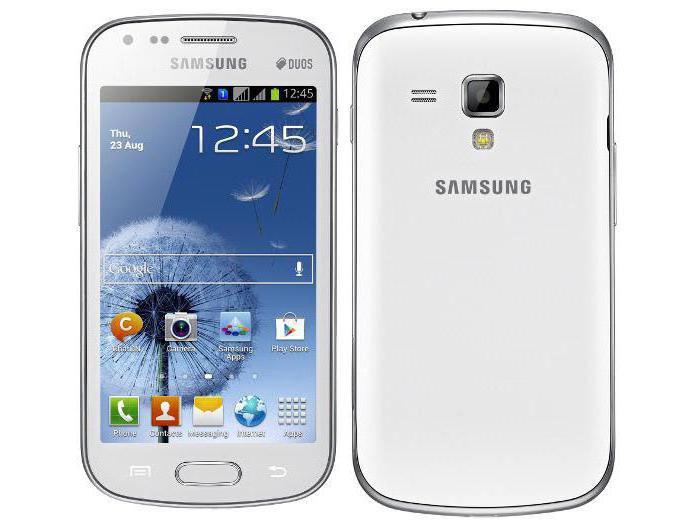 Телефон «Самсунг 7562»: описание, свойства, отзывы, фото