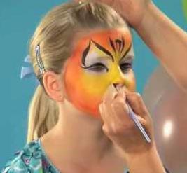 как рисовать аквагримом на лице