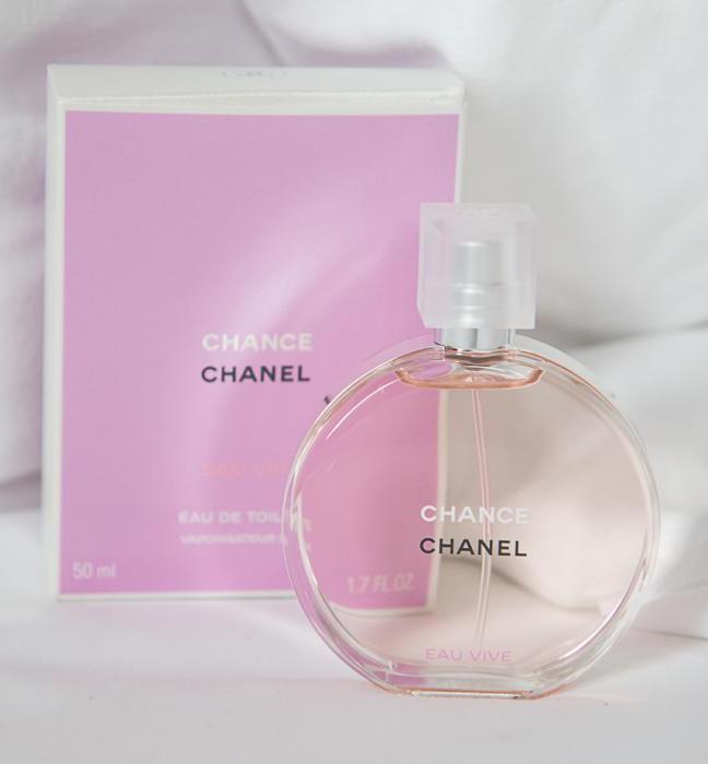 Духи для дам Chanel Chance Eau Vive: отзывы, описание запаха