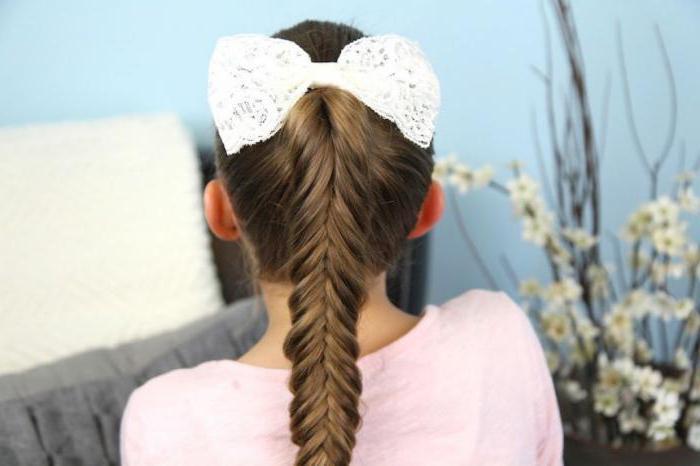 прически для девочек в школу легкие красивые