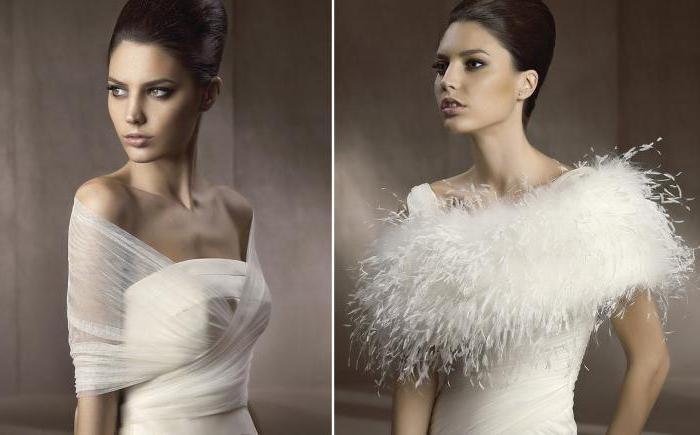 Свадебные накидки на осень: аксессуары, гармонично дополняющие образ