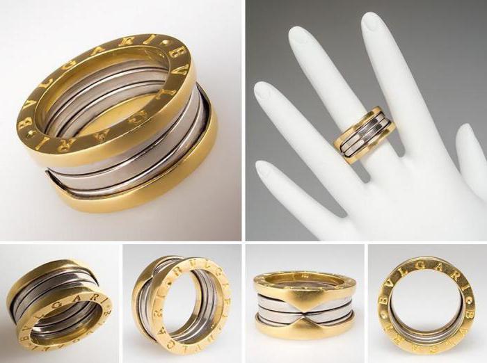 Обручальные кольца bvlgari