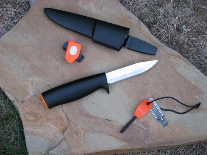 Нож фискарс для рыбалки