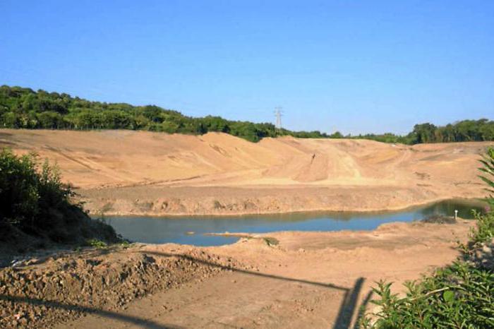 голубое озеро тульская область