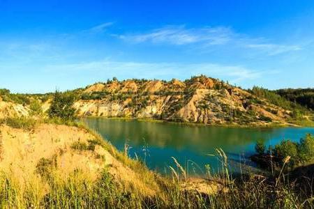 голубые озера тульская область как проехать
