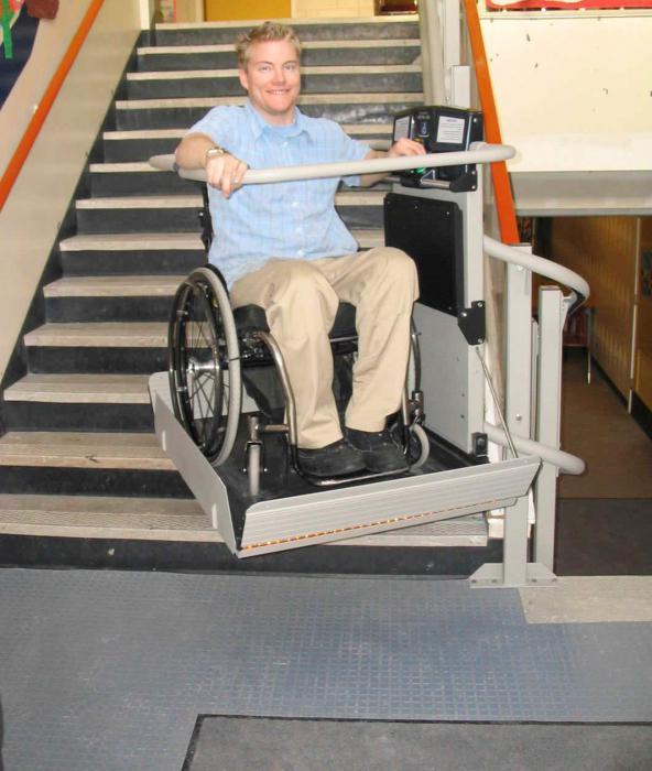 Подъемник для инвалидов вертикальный уличный своими руками