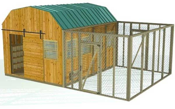 Как построить сарай для кур несушек своими руками? - Greenologia 95