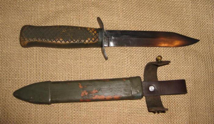 Схема ножа разведчика
