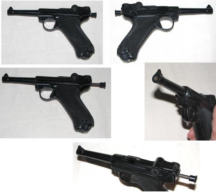 травматический пистолет люгер парабеллум