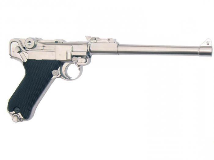 пистолет парабеллум люгер p 08