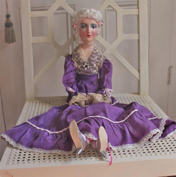 подвижная будуарная кукла