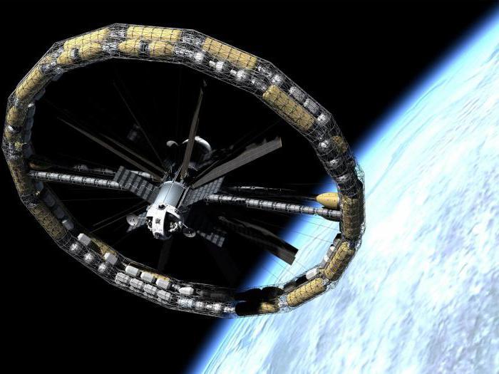 искусственная гравитация на космическом корабле