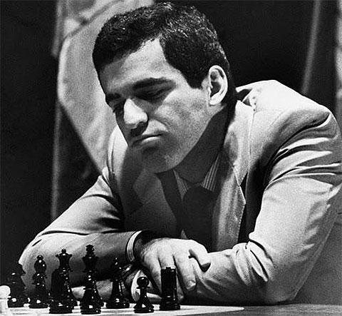 каспаров шахматист биография