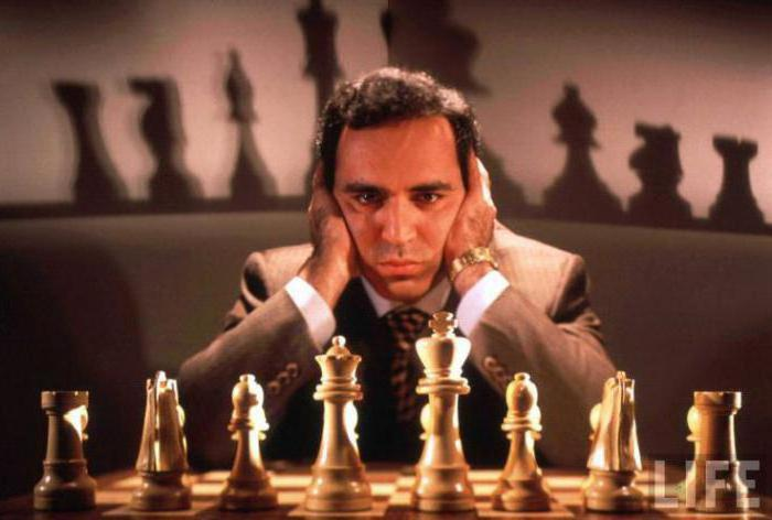 каспаров шахматист национальность