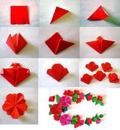 Оригами растения. Подробные уроки и рекомендации по изготовлению.