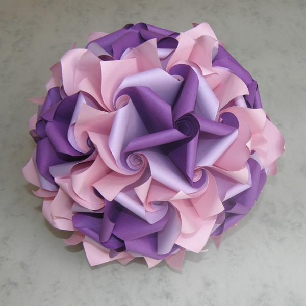 красивые цветы из бумаги схемы