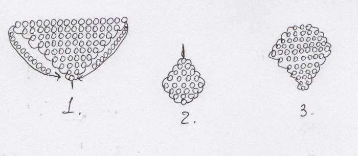роза из бисера схемы плетения