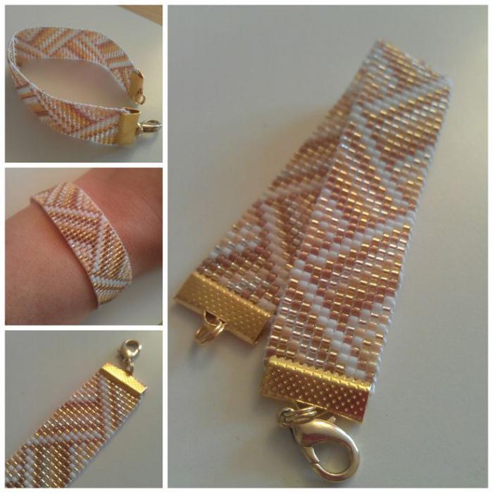 браслеты из бисера и бусин