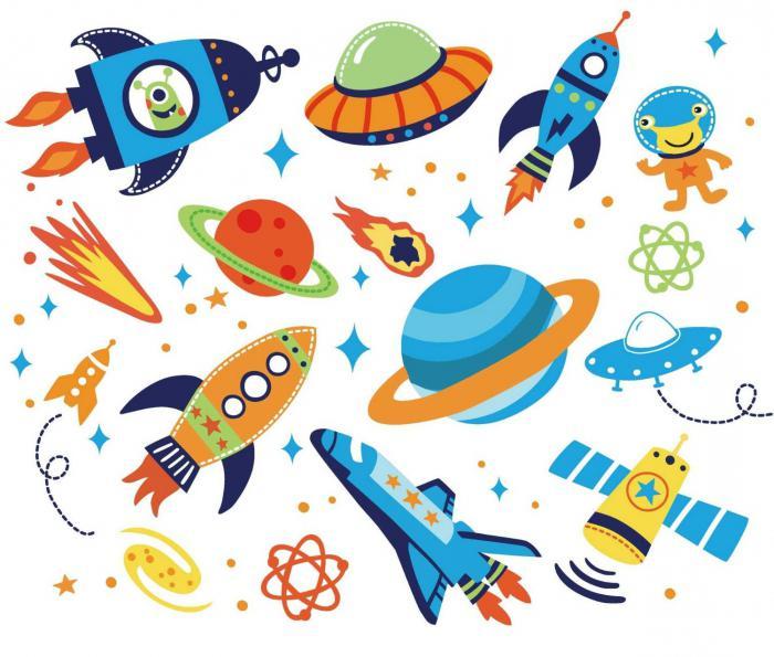 картинка космос для детей