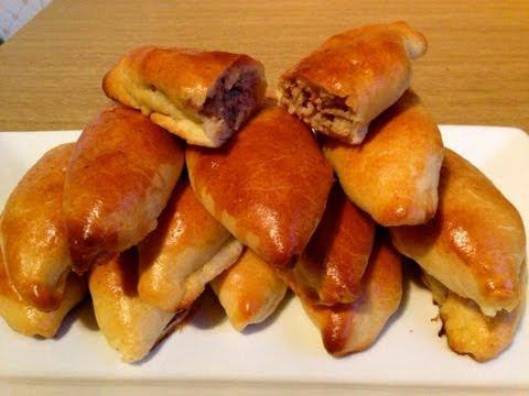 видео рецепты пирожки в духовке с разными начинками