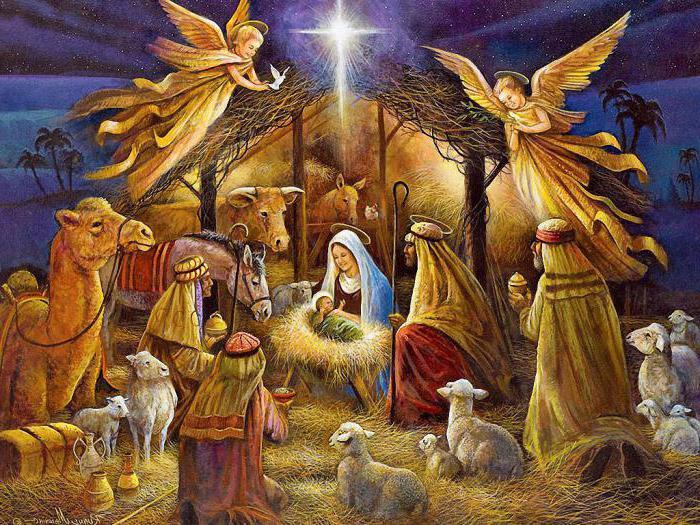 христианские поздравления на рождество