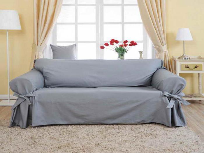 еврочехол на диван на резинке