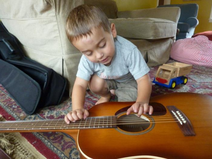 Гитарный бой для начинающих