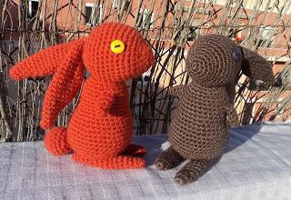 амигуруми заяц