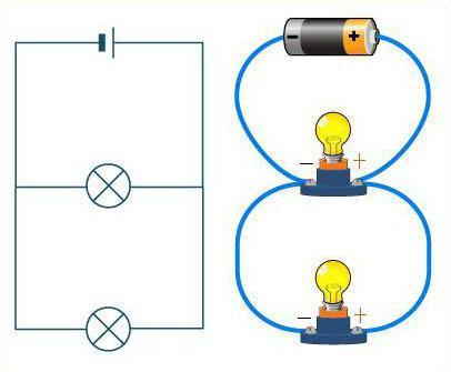 Расчет напряжения при параллельном соединении