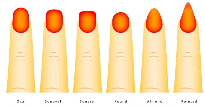 Формы ногтей как правильно выпиливать