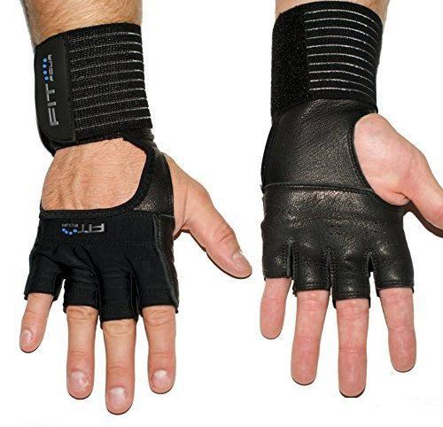 атлетические перчатки с фиксатором запястья