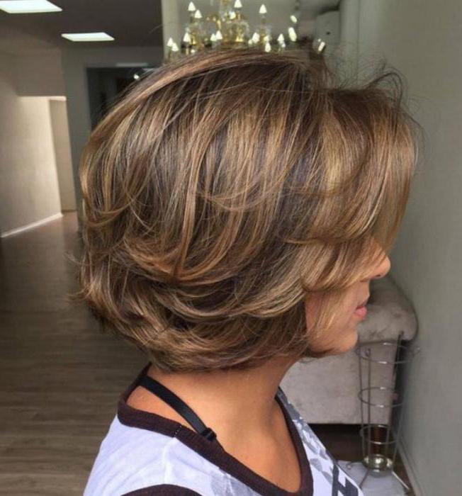 двойное окрашивание волос на короткие