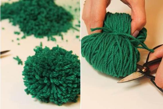 коврики из пряжи своими руками