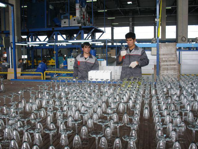 Борский стекольный завод посуда