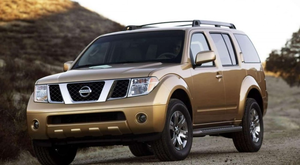Nissan Pathfinder: dimensions