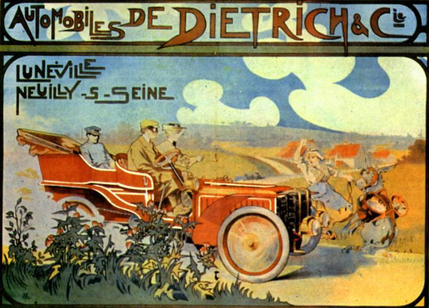 Машина «Лорен Дитрих»