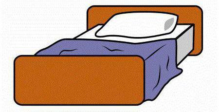 как нарисовать кровать поэтапно