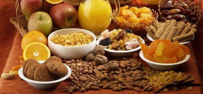 Натуральные продукты - основа диеты
