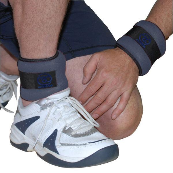 утяжелители для ног и рук повышают эффективность