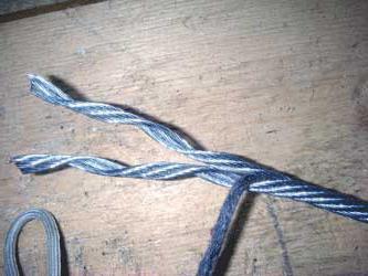 заплести трос стальной самостоятельно