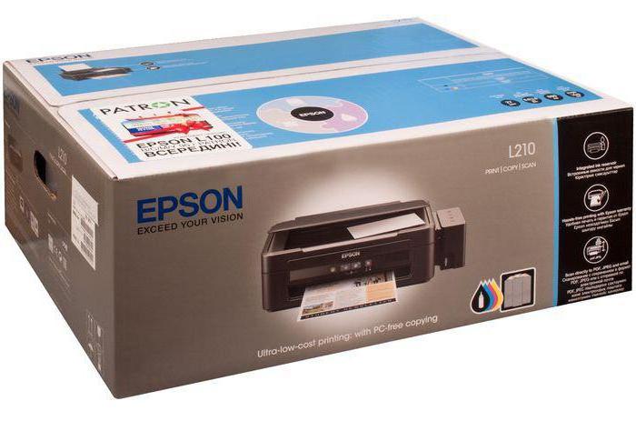 Epson L210 ценность