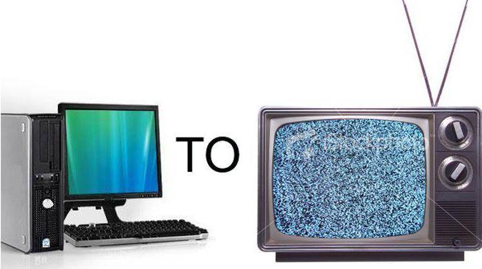 подключаем телевизор к компьютеру через HDMI