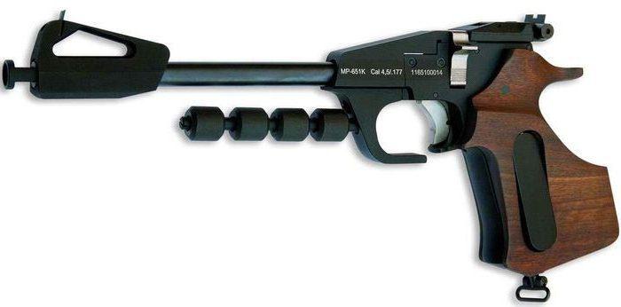 МР-651К прицельная планка