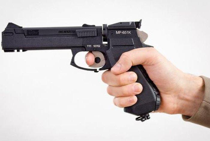пневматический револьвер