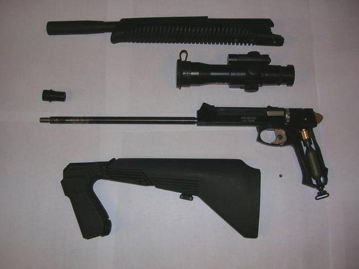 пистолет МР-651К