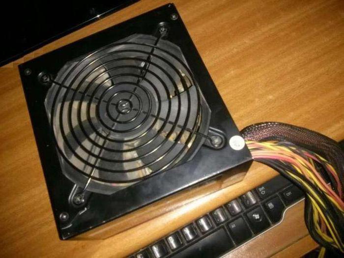вентилятор охлаждения блока питания компьютера