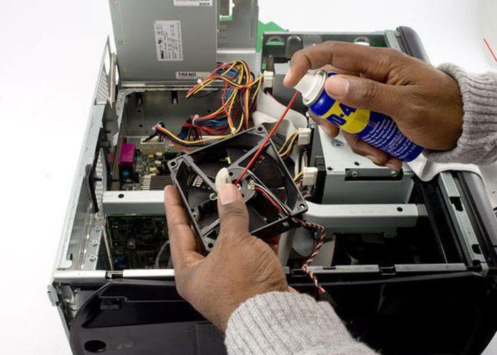 замена вентилятора блока питания компьютера