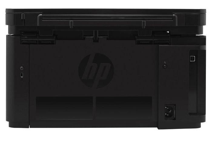 МФУ HP LaserJet Pro M125r катридж
